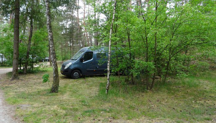 Landal camping plaats